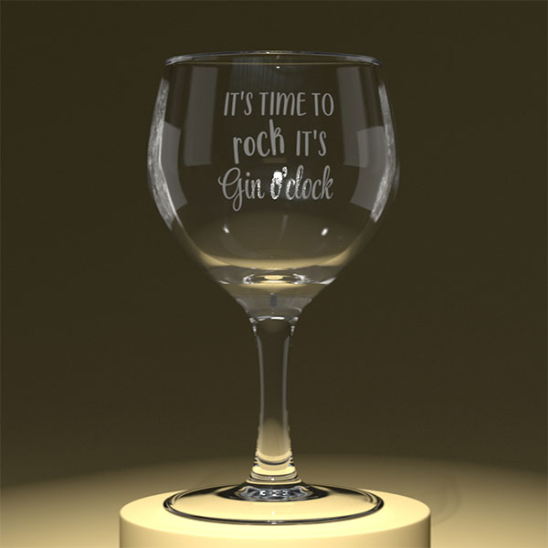 It is time to rock it is gin o clock