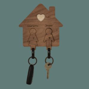 Nøglehus til sølvbryllup