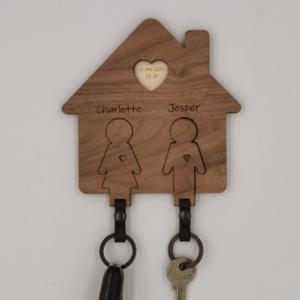 Nøglehus til 2 figur